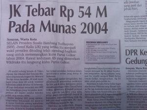 Indonesian Wikileaks Scandal